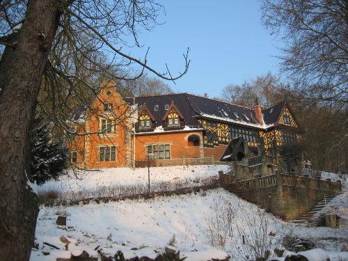 Palais am Prinzenberg im Winter