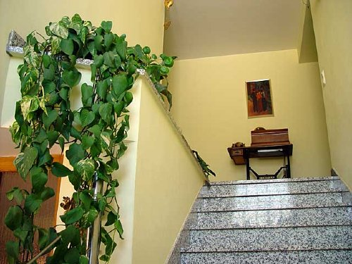 Flur Treppe zu den Appartments
