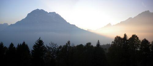 Sonnenuntergang im Bifang