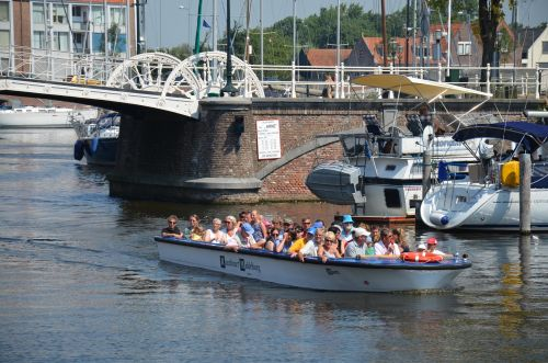 Discover Middelburg by boat