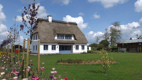 Gartenansicht - Landhaus Markerup