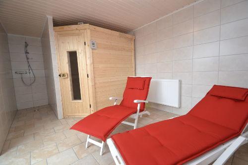 Sauna für die kalten Wintertage