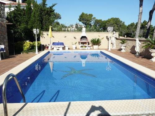 Pool 8m x 4m , ganztags in der Sonne
