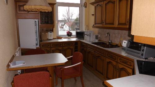 Küche in Ferienwohnung 1. Etage