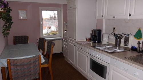 Küche in Ferienwohnung 2. Etage