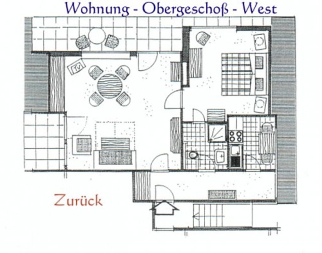 Haus Weissenburg, OG West