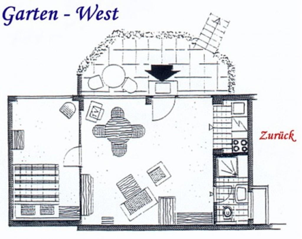 Haus Weissenburg, Garten West