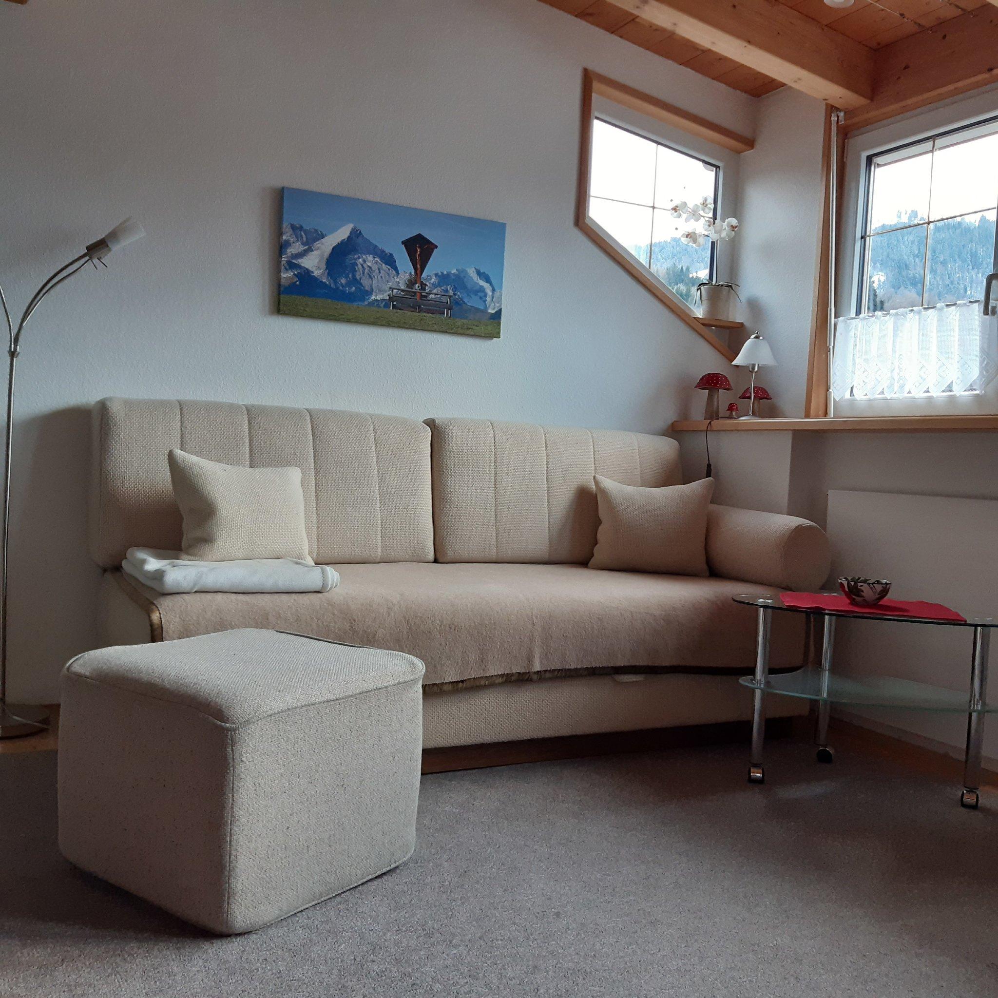 Küchenblock mit Couch