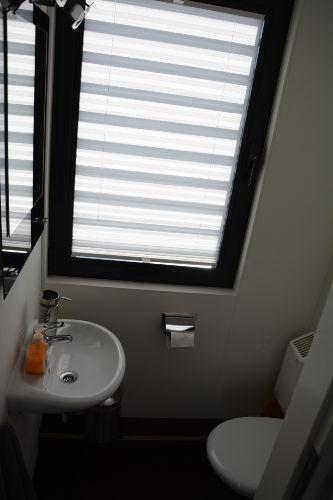 WC und Bad sind getrennt