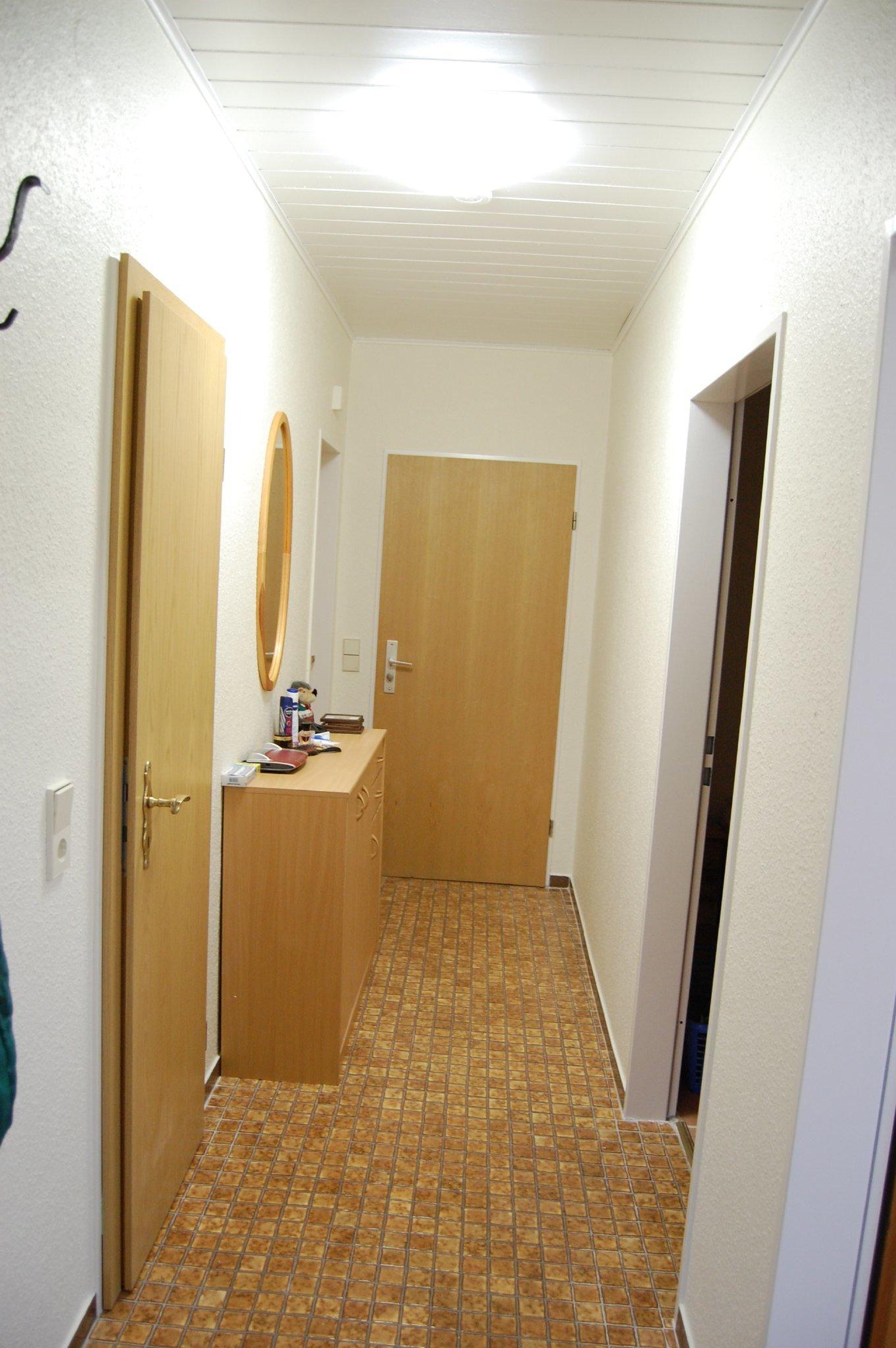 Diele, Zugang zu den Zimmern