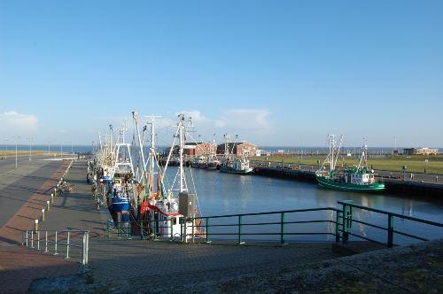 Der Hafen von Dornumersiel