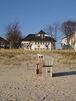 Aussenansicht mit Blick vom Strand