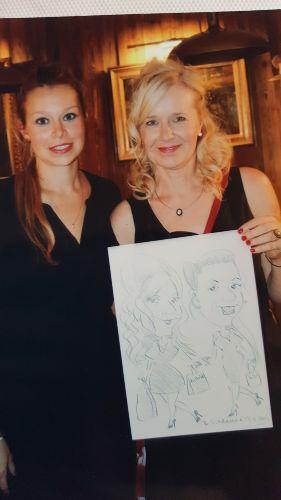 Liane Schulz & Julia Belß (Tochter)