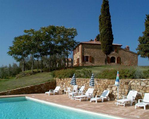 Pool und Casa Enrico