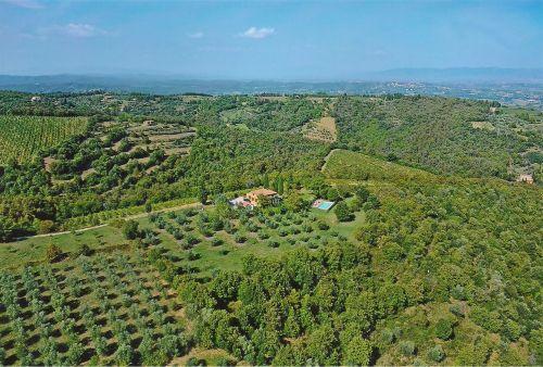 Luftaufnahme von Casa Enrico