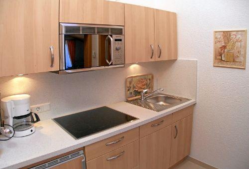 Ferienwohnung 5 - Einbauküche mit Extras