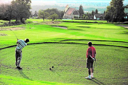 Golfplatz nahe G�stehaus