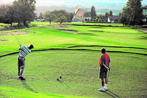 Golfplatz nahe Gästehaus