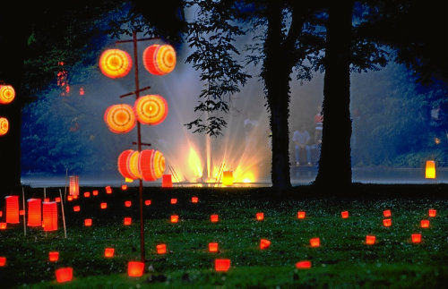 Lichterfest im Kurpark Bad Bellingen