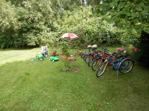 Unser Kinderfuhrpark
