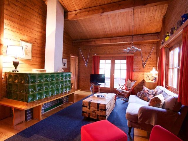 Blockhaus Beauregard, Finnisches Blockhaus 3ZKB