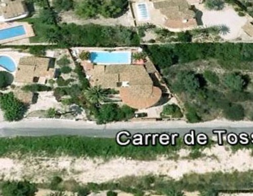 Casa Tossals (Google Earth)