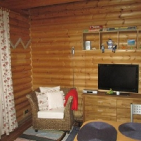 Ferienwohnung im Holzblockhaus, Holzblockhaus