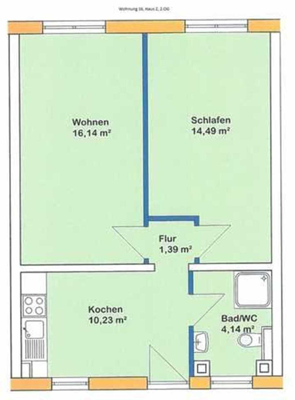 Appartmenthaus TEMA, Wohnung 16 Haus 2