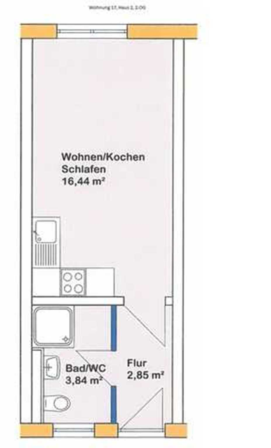 Appartmenthaus TEMA, Wohnung 17 Haus 2