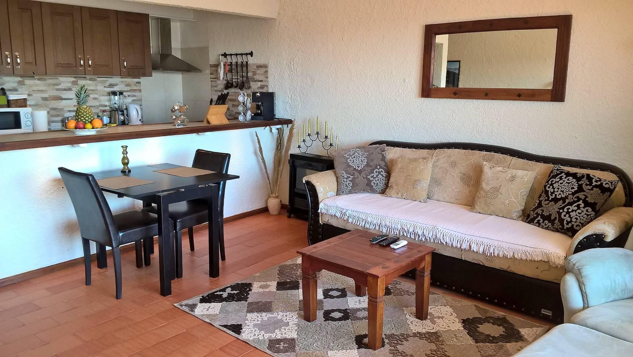 """4k UHD 43"""" TV im Wohnzimmer"""