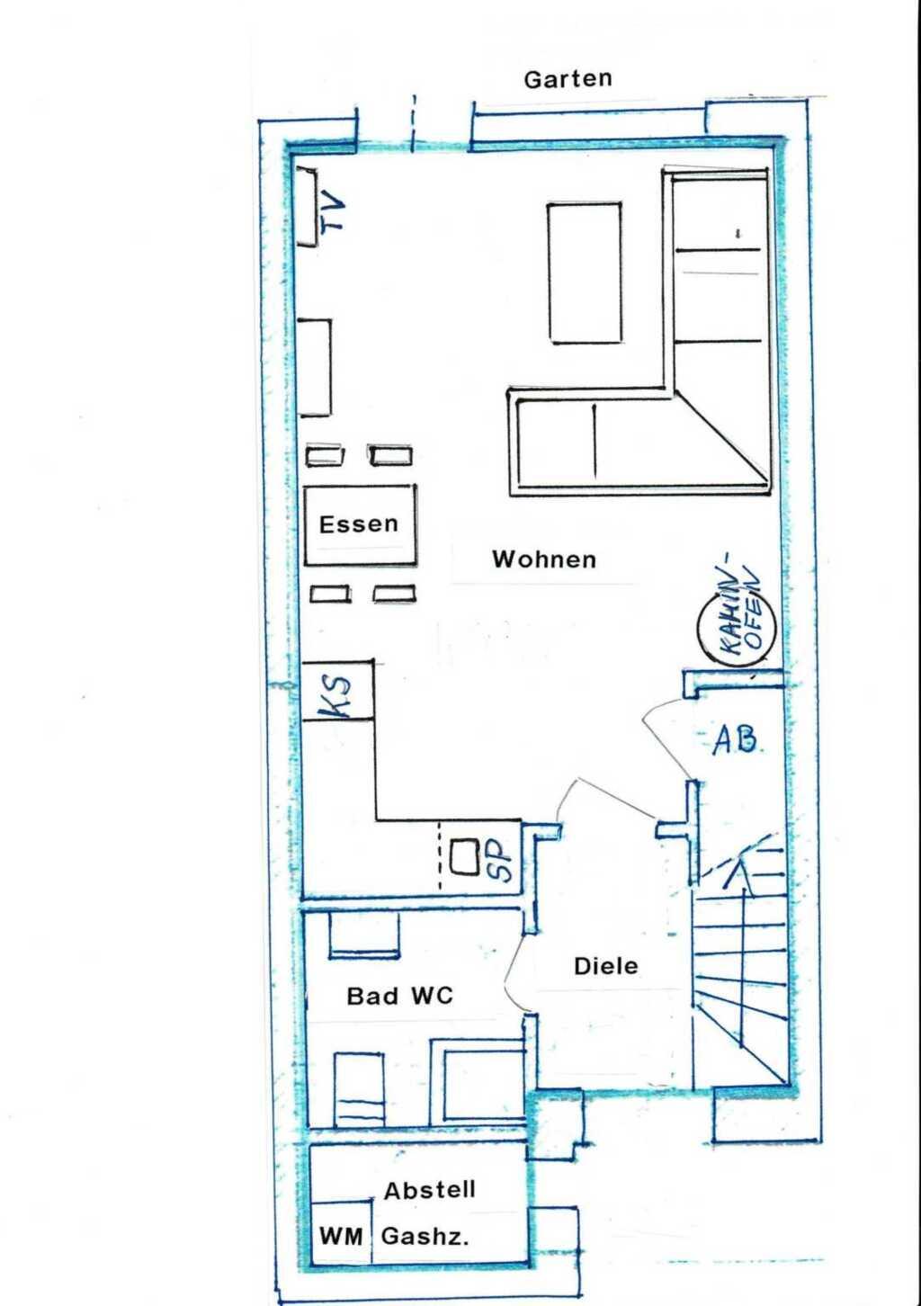 Ferienhaus Haus Blauort - Sabine Mohr, Ferienhaus