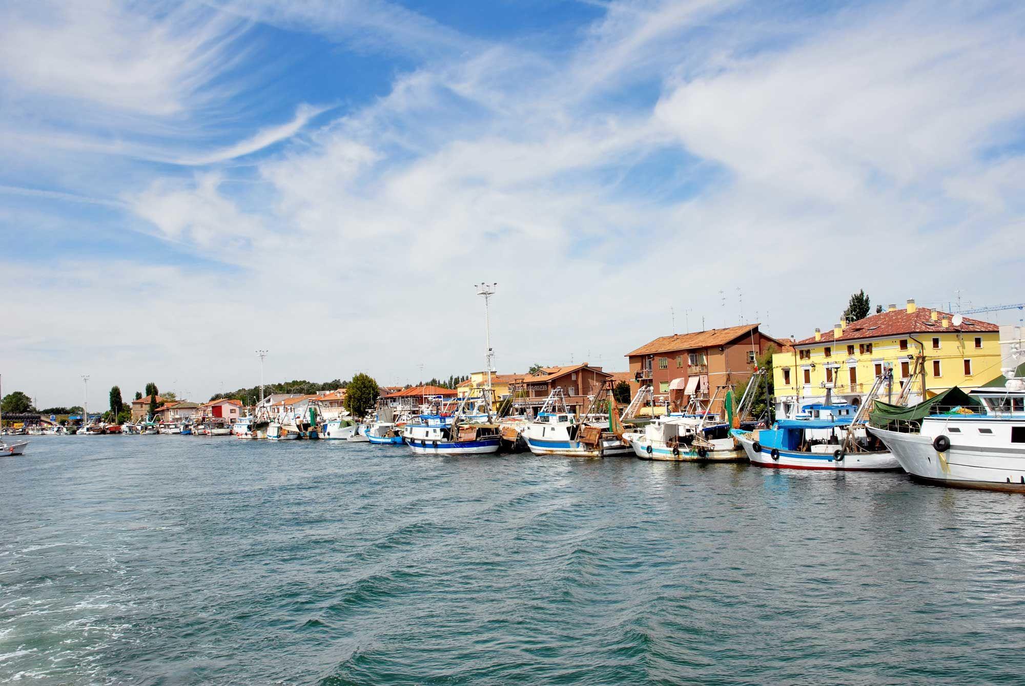 Comacchio, unsere kleine Venedig