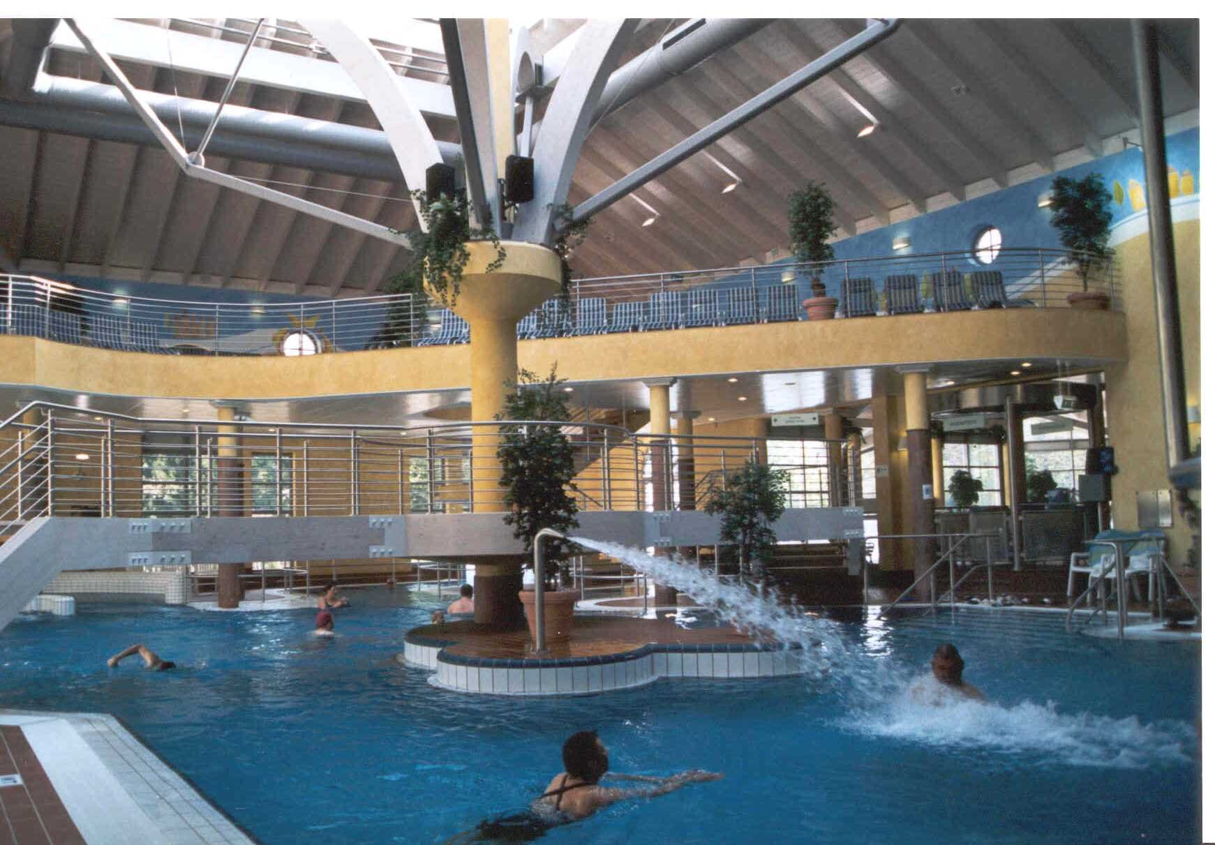 Odenwald-Therme in Bad König Innenbecken