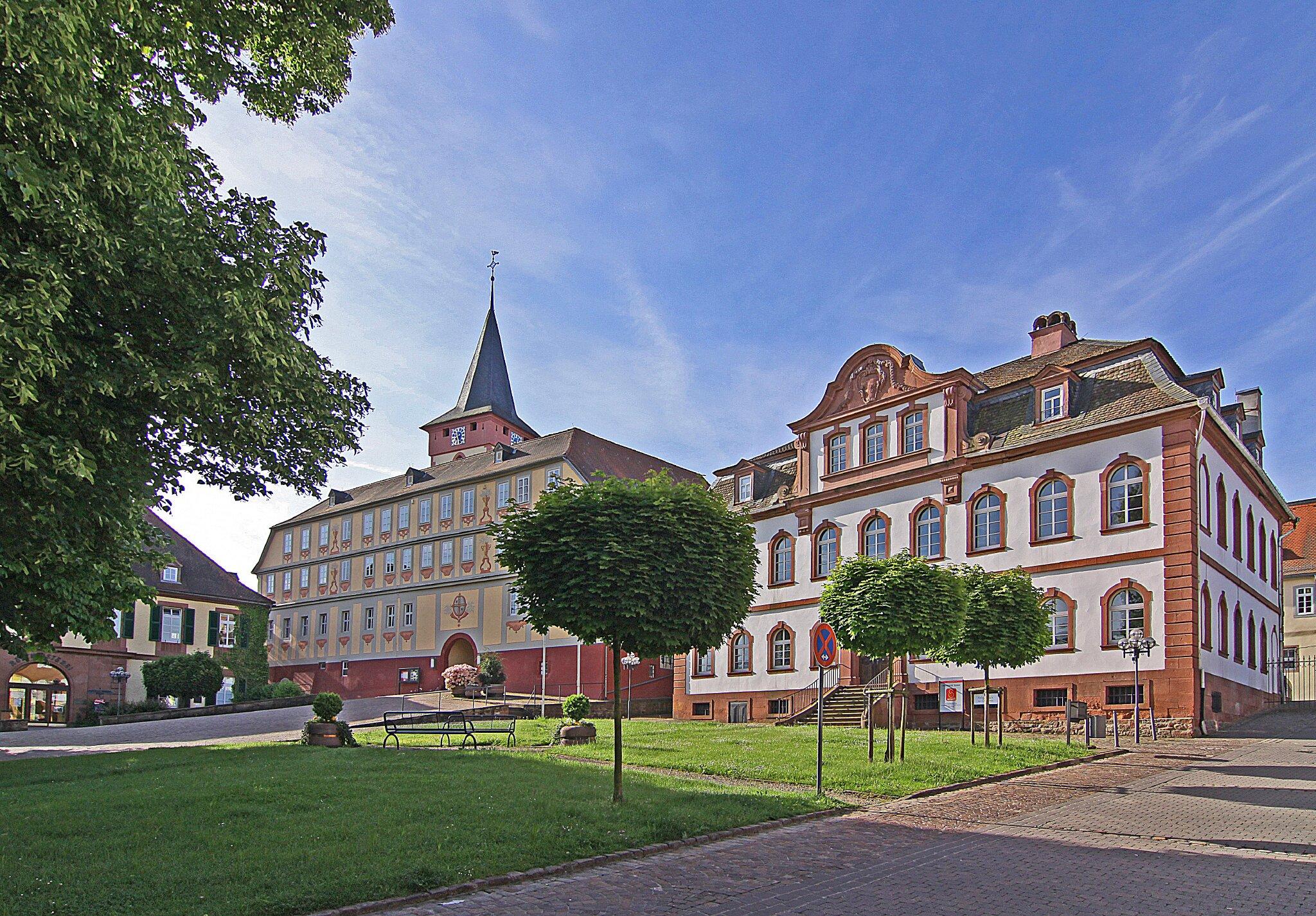 Altes und Neues Schloß in Bad könig