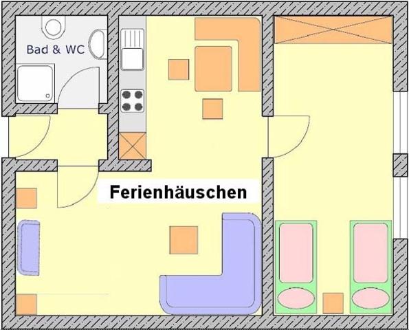 Andreas Ferienwohnungen, 4-Sterne-'Ferienhäusle' 4