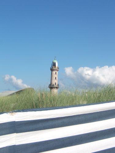 Direkt am Leuchtturm