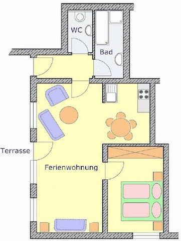 Andreas Ferienwohnungen, 4-Sterne-Ferienwohnung 55