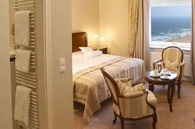 Hotel Miramar, Doppelzimmer Bad o. Du-WC Seesicht