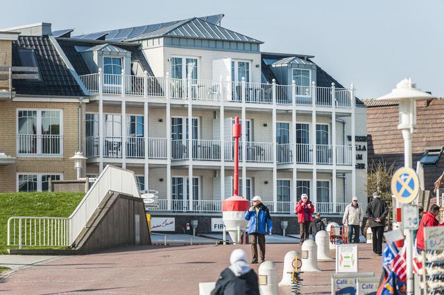 Weisse Villa am Meer, Ferienwohnung Hafenkante