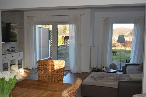 Blick Ess- und Wohnzimmer