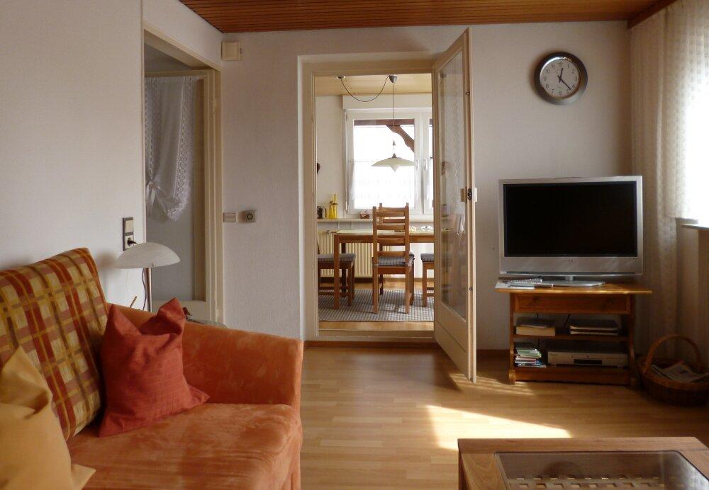 Wohnzimmer, Blick zum Esszimmer