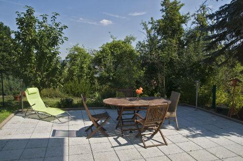 Terrasse mit Gartenanteil