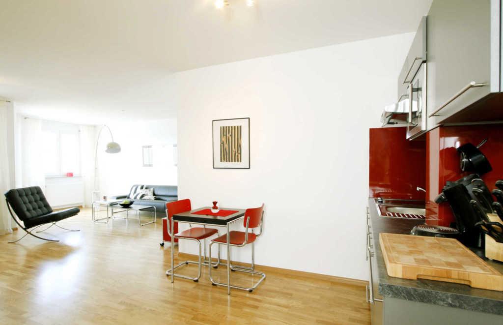 Freiburg-Design-Appartement 1, Nichtraucher-Ferien