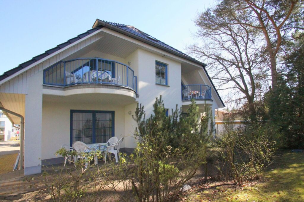 Haus an der Düne, B 03: 45m², 2-Raum, 3 Pers, Balk