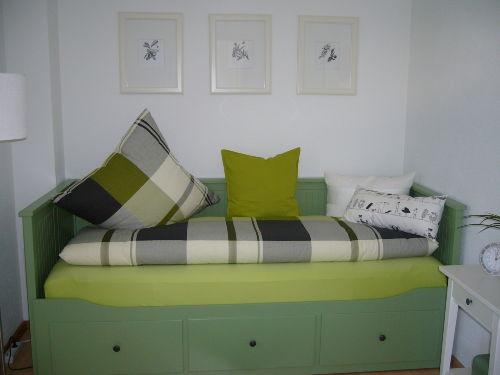 Schlafzimmer mit Doppelbett-Funktion