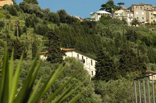 Ausblick vom Balkon bis Elba