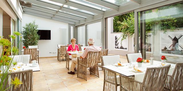 Elisabeth Hotel Detmold, Ferienwohnung mit Blick z