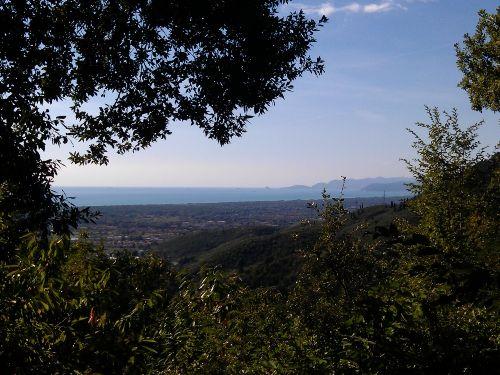 Blick von der Terrasse nach Westen