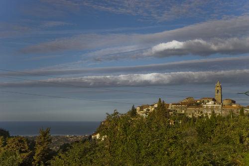 Das Dorf Monteggiori, 7 Minuten Fußweg