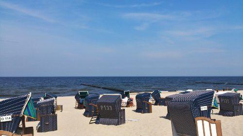Strand von Koserow - 150 m entfernt